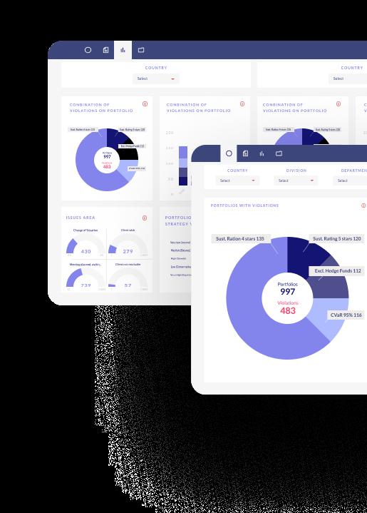 Compliance Dashboard Screenshot